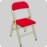 sillas plegables de acero de madera de resina On sillas plegables acolchadas